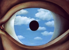 Rene Magritte - False mirror - 1928