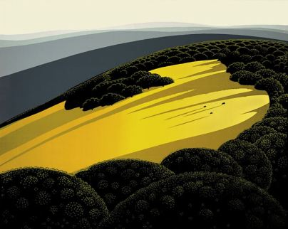 Eyvind Earle - Valley