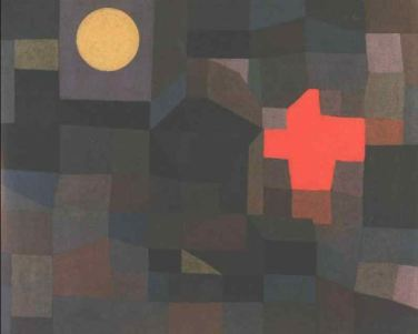 Fire, full moon - Paul Klee