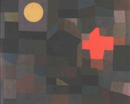 Fire, full moon - Paul Klee