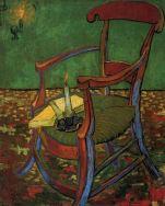 La sedia di Gauguin - Vincent Van Gogh