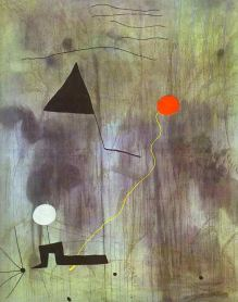 The Birth of the World - Joan Miró