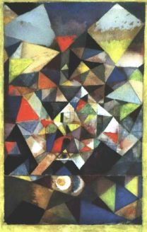 With the egg - Paul Klee
