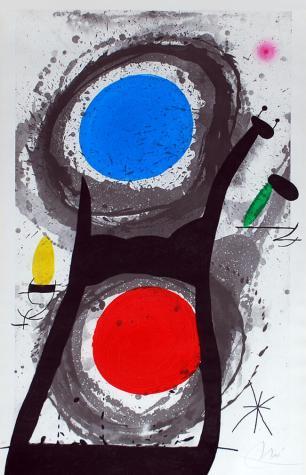 L'Adorateur du Soleil - Joan Miro
