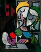 Woman writing - Picasso