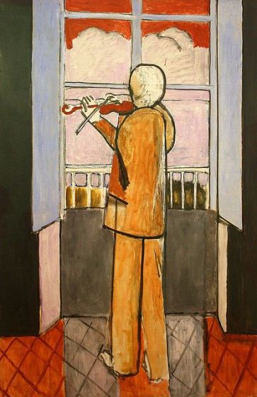 The Violinist at the window - Henri Matisse